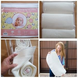 Other - 3 pack BABY DIAPER CHANGING PAD LINERS